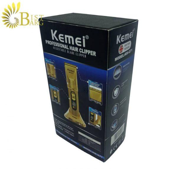 ماشین اصلاح موی کمی مدل KEMEi KM-i271-5.